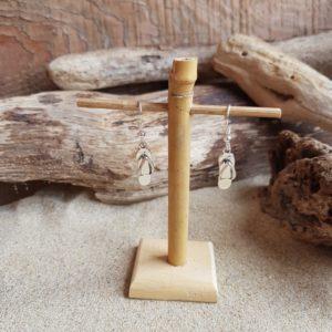 Boucles d'Oreilles pendantes simples – Tong